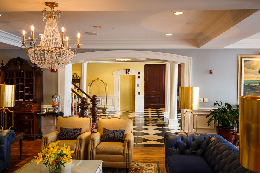 The Marshall House Hotel in Savannah, GA