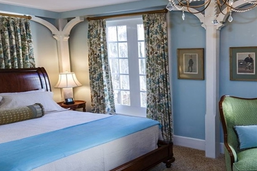 Inside a Guest Room at Eliza Thompson House in Savannah