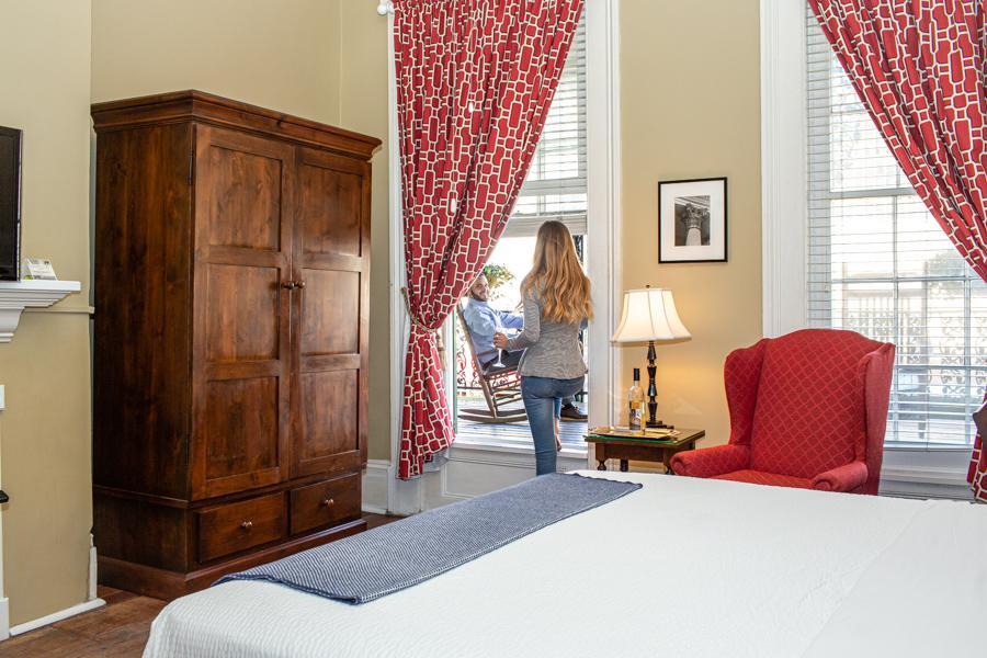 The Marshall House Hotel in Savannah
