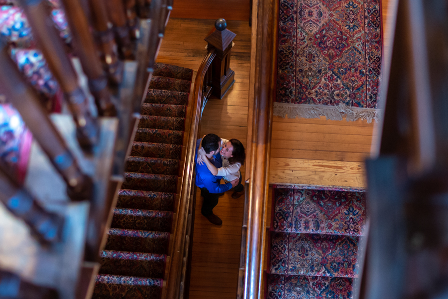 Kehoe House staircase