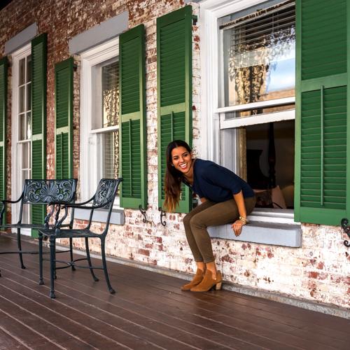 Balcony Rooms at The Marshall House
