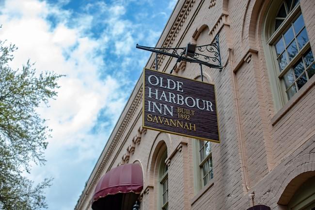 Olde Harbour Inn Savannah boutique hotel