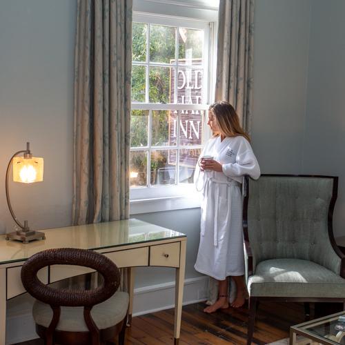 Spacious suites at Olde Harbour Inn